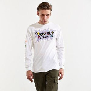 adf5e60fd656 Urban Outfitters Rugrats Faces Long Sleeve T-shirt